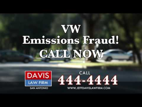 Davis Law Firm: VW Emissions Fraud! CALL NOW!