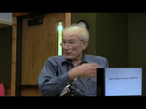 """BWP 2016: 24. Dr. James Woodward """"Mach Effect Concepts and Experiments"""""""