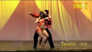 Salsorro 2010 - Eddie Torres y Melissa Rosado (Nueva York)