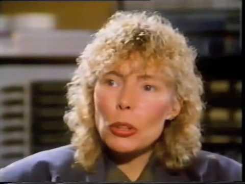 Joni Mitchell -  'Whistle Test Extra' BBC2 1985 (part 2/4)