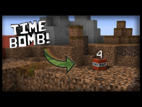 Minecraft: How to make working time bombs