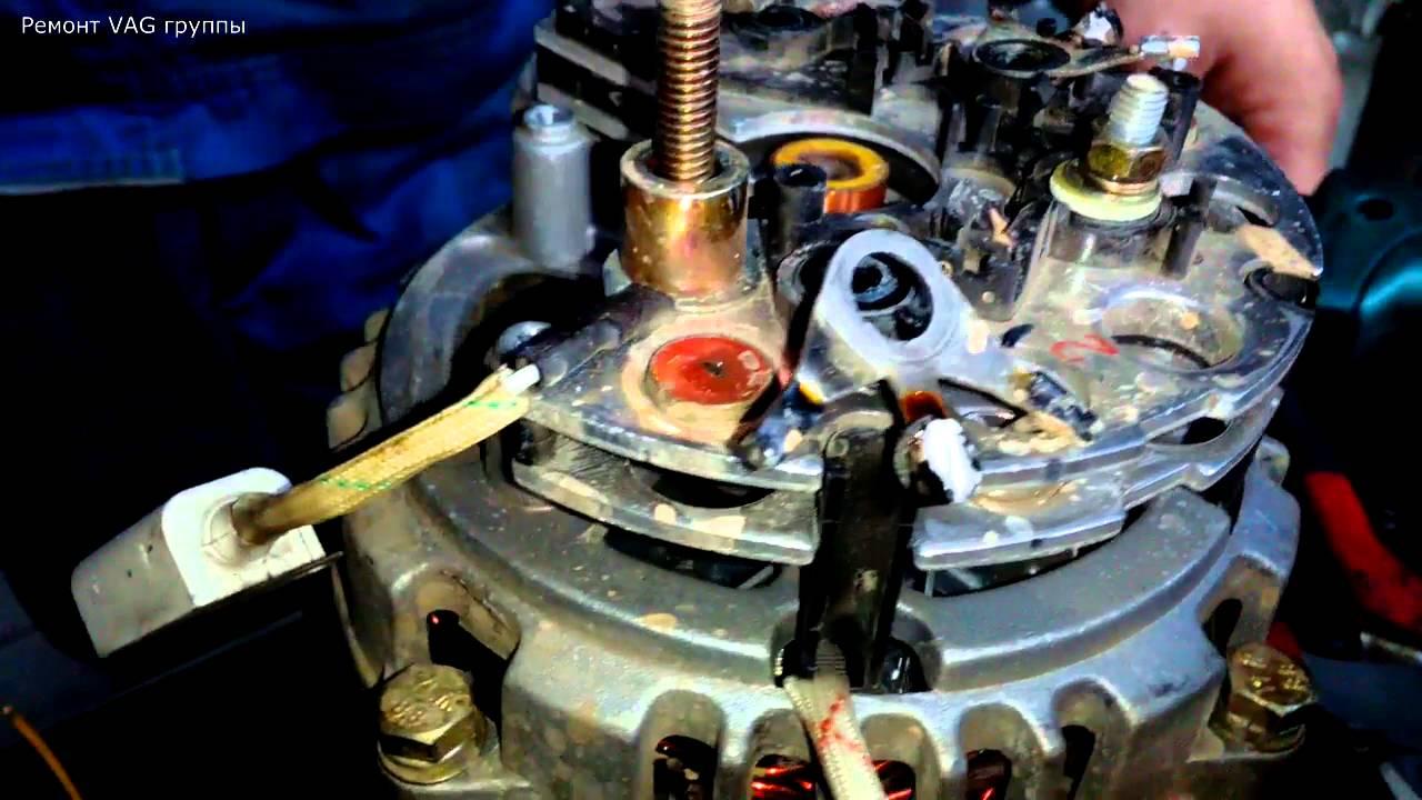 Стенд для проверки генератора ваз 2101 07 (часть 1)