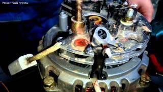 видео Доработка генератора ваз 2109