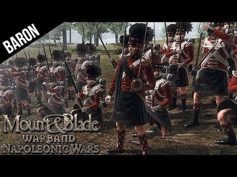 Mount and Blade - The Attack of the Hilarious Bagpipers!  Warband Napoleonic Wars