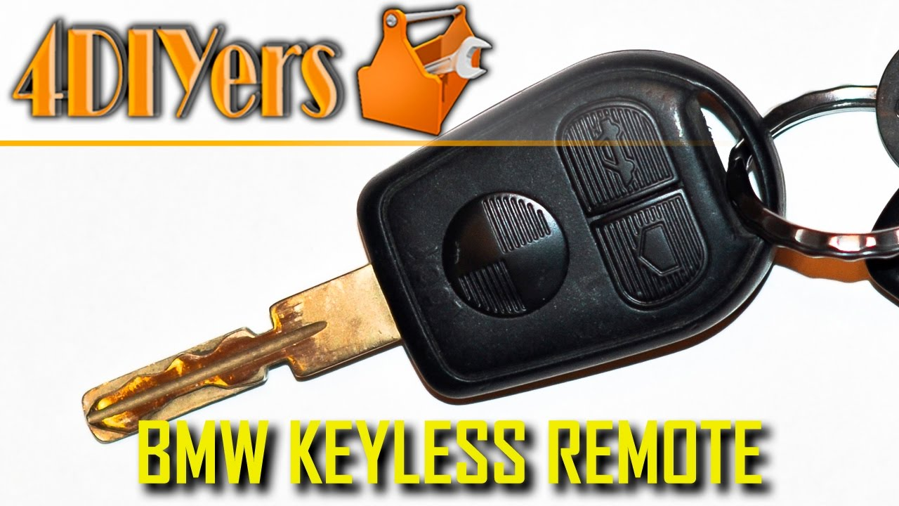diy bmw key fob battery replacement disassembly youtube. Black Bedroom Furniture Sets. Home Design Ideas