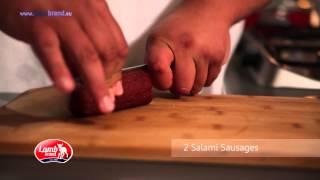 Polenta Tart With Sausage & Broccoli - Lamb Brand Summer #56
