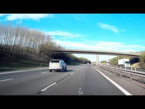 Range Rover - New Model - Prototype ? on M40 near JLR Gaydon