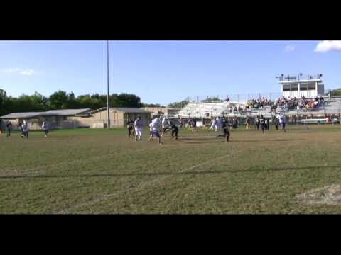 Ben Darling QB #9 Dallas Academy.avi