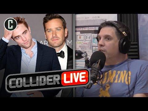 Whos the Better Batman: Armie Hammer or Robert Pattinson?