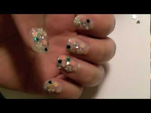 Pretty Japanese Nail Art Tutorial - YouTube