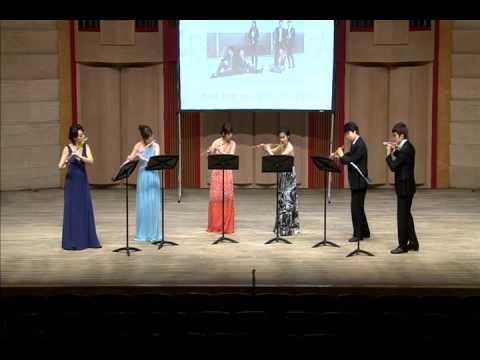 The sound of music. flute choir.. IF ensemble.