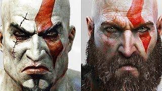 GOD OF WAR Evolution of Kratos (God of War 2005 to 2018) PS4