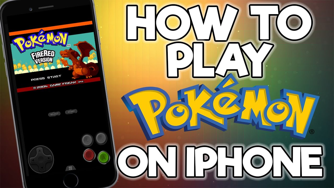 How To Play Any Pokemon Game On iPhone iOS 12 NO JAILBREAK FREE - Happy  Chick Emulator