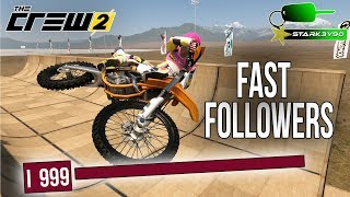 The Crew 2 - 3 FASTEST WAYS TO GAIN FOLLOWERS!