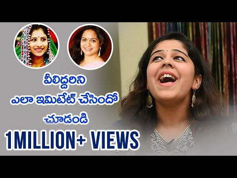 Singer Lipisika Imitates Celebrities | People Media Factory