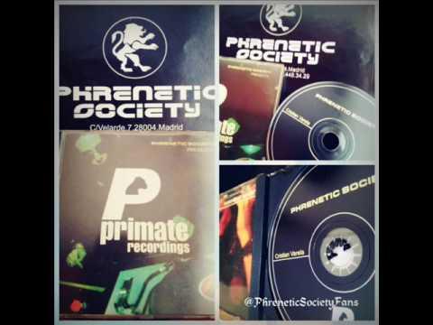 Phrenetic Society Presenta - Primate Recordings (CD PROMOCIONAL)