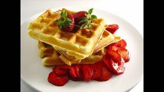 Бельгийские вафли. КЛАССИЧЕСКИЙ РЕЦЕПТ  /Belgian waffles/