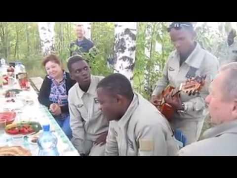 Негры поют school