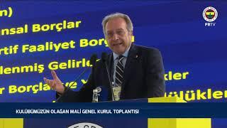 Başkan Vekilimiz Burhan Karaçam'ın Olağan Mali Genel Kurul Toplantısı'nda Yaptığı Konuşma