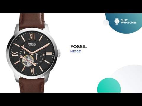 Trendy Fossil ME3061 Men Watches Full Specs, Features, Prices