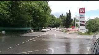 9 МАЯ 2017 Парад  авто диспетчерской службы заказа такси Везёт СОЧИ