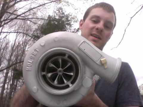 Holset Super HX40 62mm Billet Compressor Wheel Upgrade