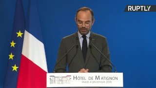 Заявление премьер-министра Франции в связи с протестами из-за роста цен на топливо — LIVE
