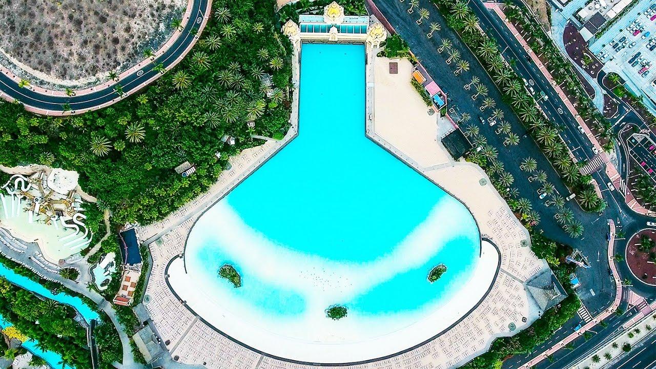Best water park in the world by drone siam park in tenerife dji phantom 4 drone flight - Aqua tenerife ...