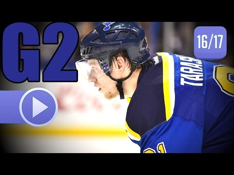 Nashville Predators vs St. Louis Blues. 2017 NHL Playoffs. Round 2. Game 2. 04.28.2017. (HD)