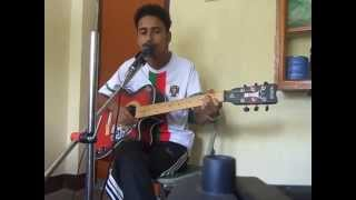 Aakhama Timi lai!!!!!!!!! Cover By Sandeep Thapa!!!!!! :) :) :)
