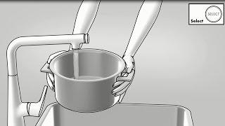 hansgrohe küchenmischer: metris select, einhebel-küchenmischer 320 ... - Hansgrohe Metris Küche