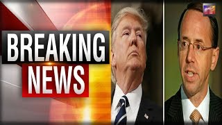 BREAKING: Trump DROPS the HAMMER on Rosenstein - This Could Be THE END