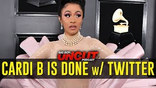 Cardi B is Done w/ Twitter... For Now, LeBron James & Lakers + More!