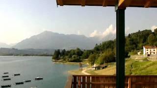 Lago di Santa Croce Farra d'Alpago Belluno.mp4