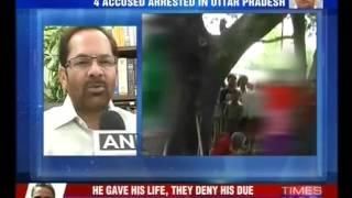 Two girls raped, hanged in Uttar Pradesh