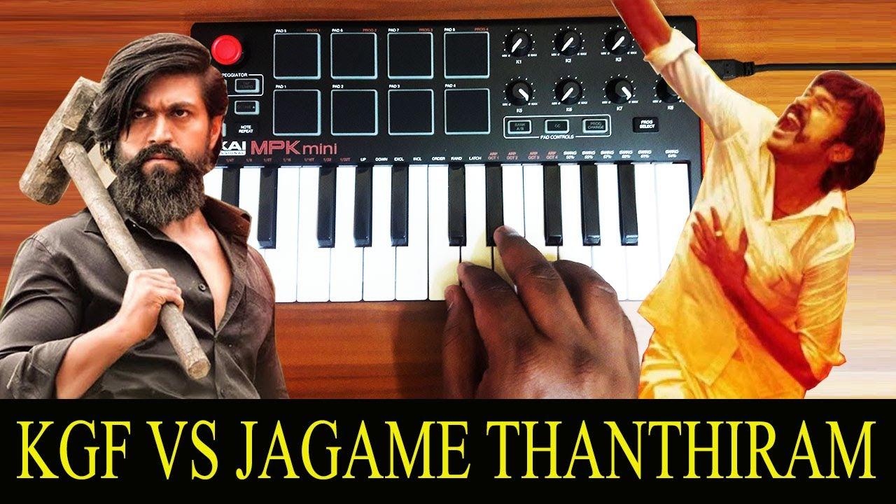 Kgf x Jagame Thanthiram | Mix By Raj Bharath | Yash | Dhanush