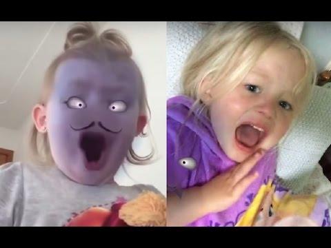 bebekler snapchat şakası çok komik video