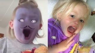 Bebekler Snapchat şakası (çok komik video)