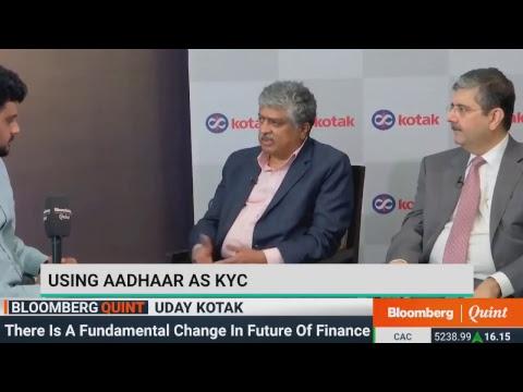 Uday Kotak & Nandan Nilekani On Challenges Faced By Indian Banks