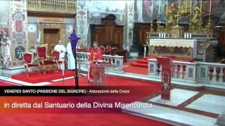 Omelia 14 Aprile 2017  VENERDI SANTO PASSIONE DEL SIGNORE   Adorazione della Croce LIVE