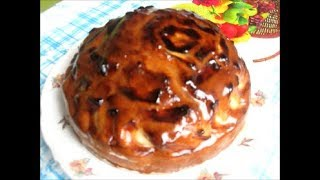 Пирог «Яблочное наслаждение»  Apple pie