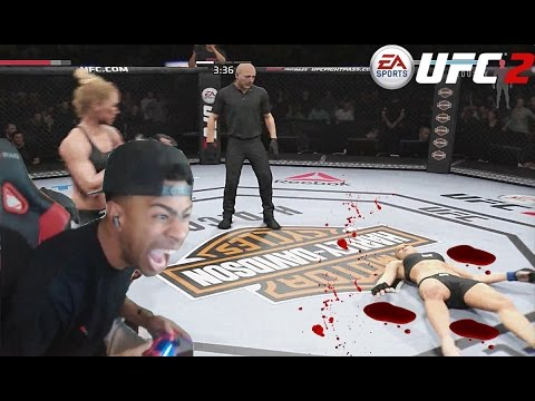 TRASH TALKER GETS EXPOSED & KNOCKED OUT!!! | UFC 2