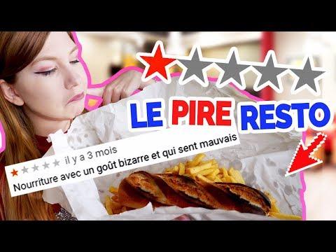 ON A MANGÉ DANS LE PIRE RESTO DE LA RÉGION