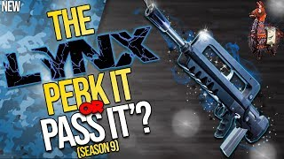 FORTNITE | THE LYNX : PERK IT OR PASS IT? | How Does It STACK UP To The Other AR'S?