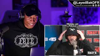 TRASH or PASS! Lil Dicky (Sway In The Morning Freestyle) [REACTION!!]