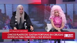 Chicos plásticos: Gastan fortunas en cirugías estéticas p...