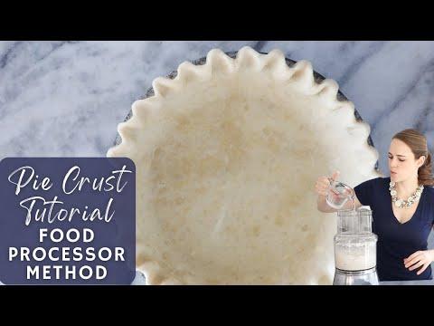 Pie Crust Tutorial: Food Processor Method