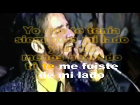 Frankie Ruiz - La Rueda - Karaoke