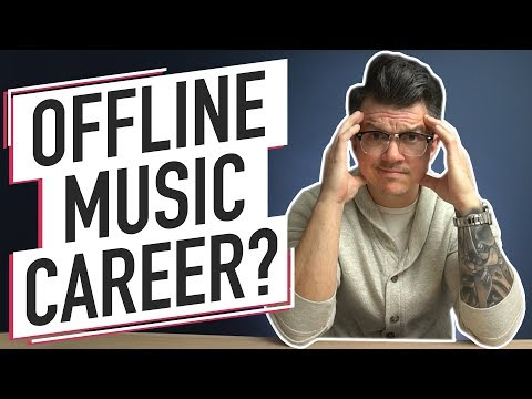 Building A Music Career With No Social Media   Off The Grid Marketing