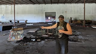 (Dead body found) while exploring abandoned Factory!!